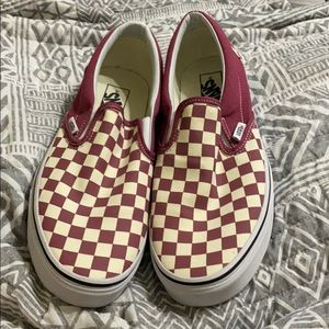 Vans size 10.5 in Men/12 in Women
